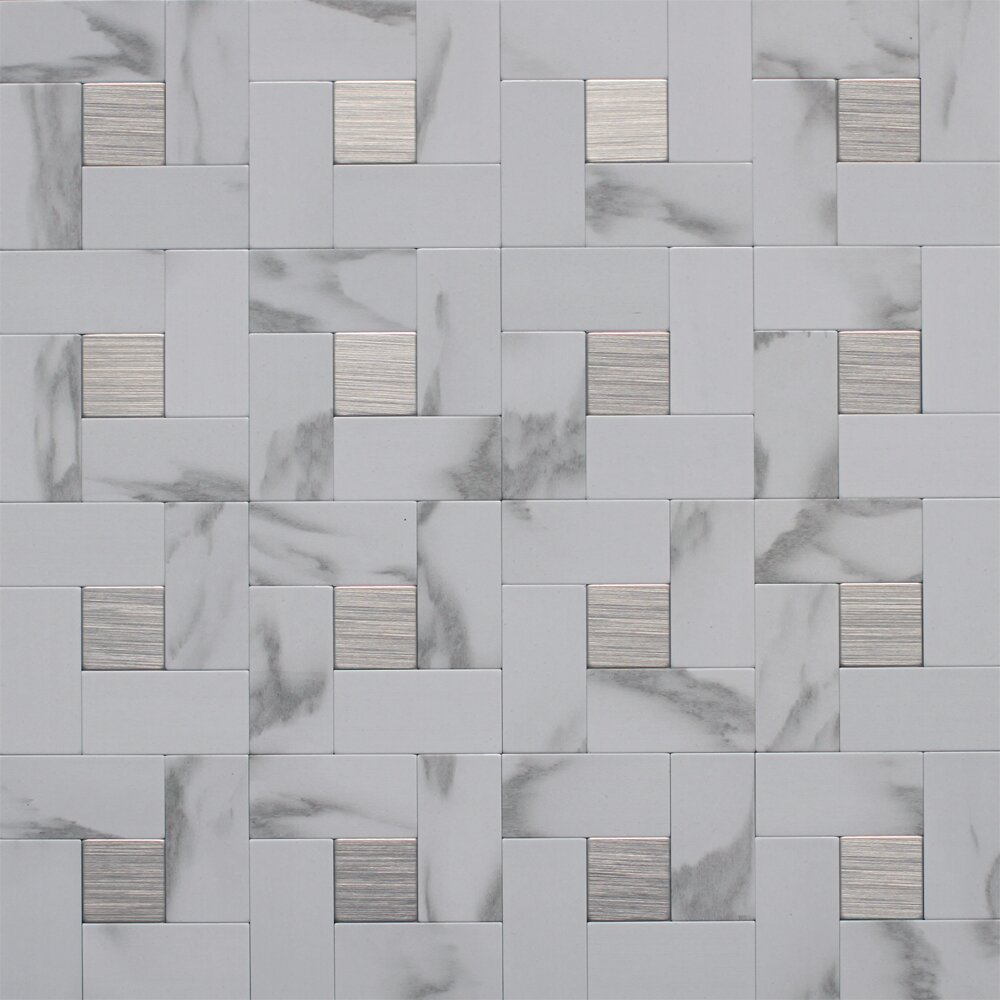 Peel And Stick Kitchen Tile Peel And Stick Backsplash Tile Youll Love