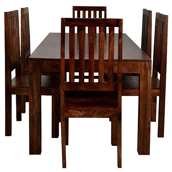 Prestington hayden dining table and 6 chairs for Table and 6 chairs uk