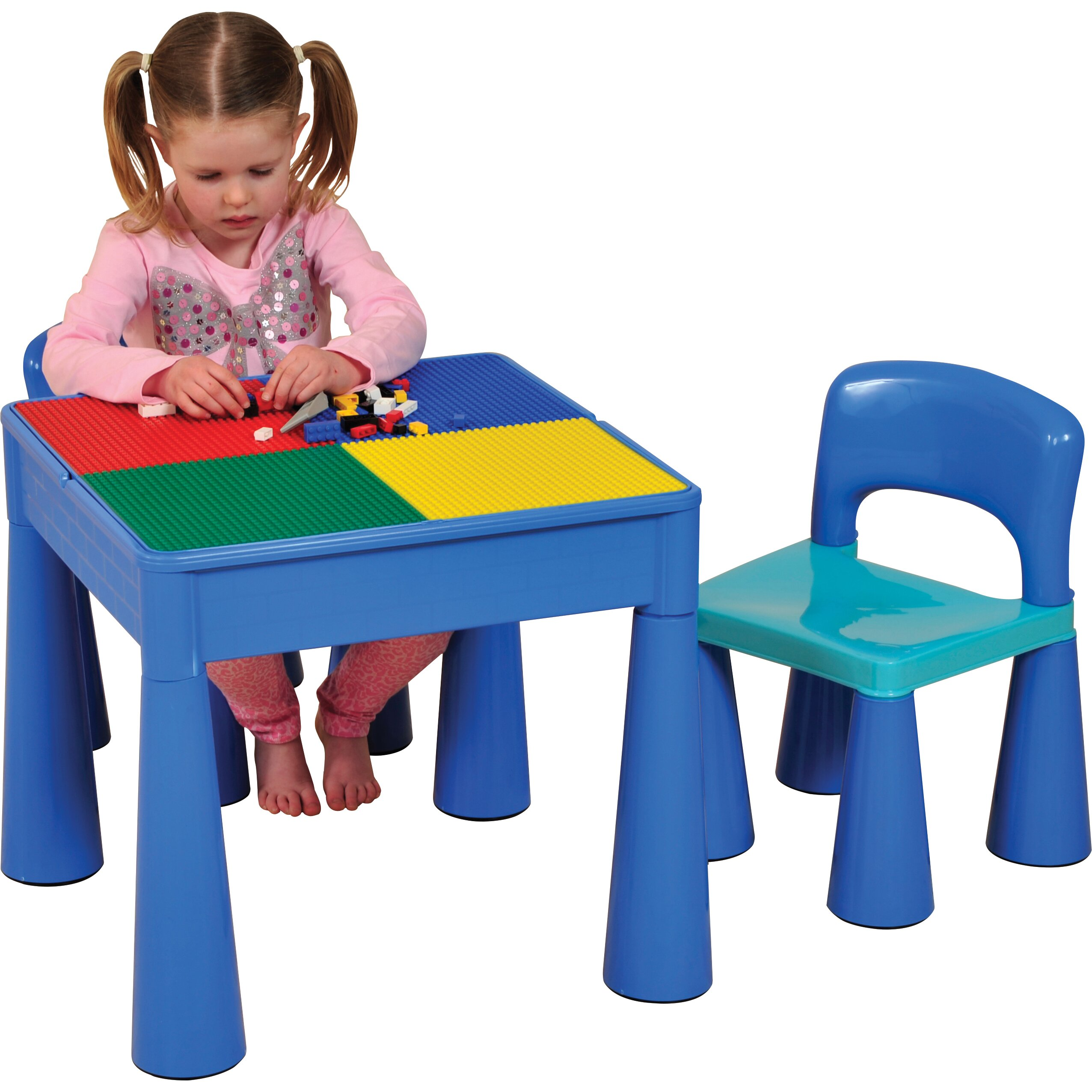 Wrigglebox Versatile Childrens 3 Piece Table and Chair