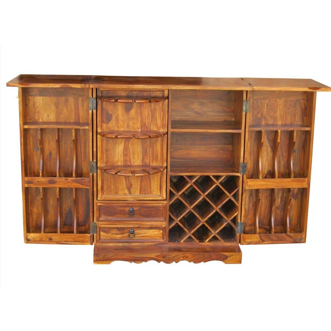 Ethnic Elements Kerala Bar Cabinet & Reviews