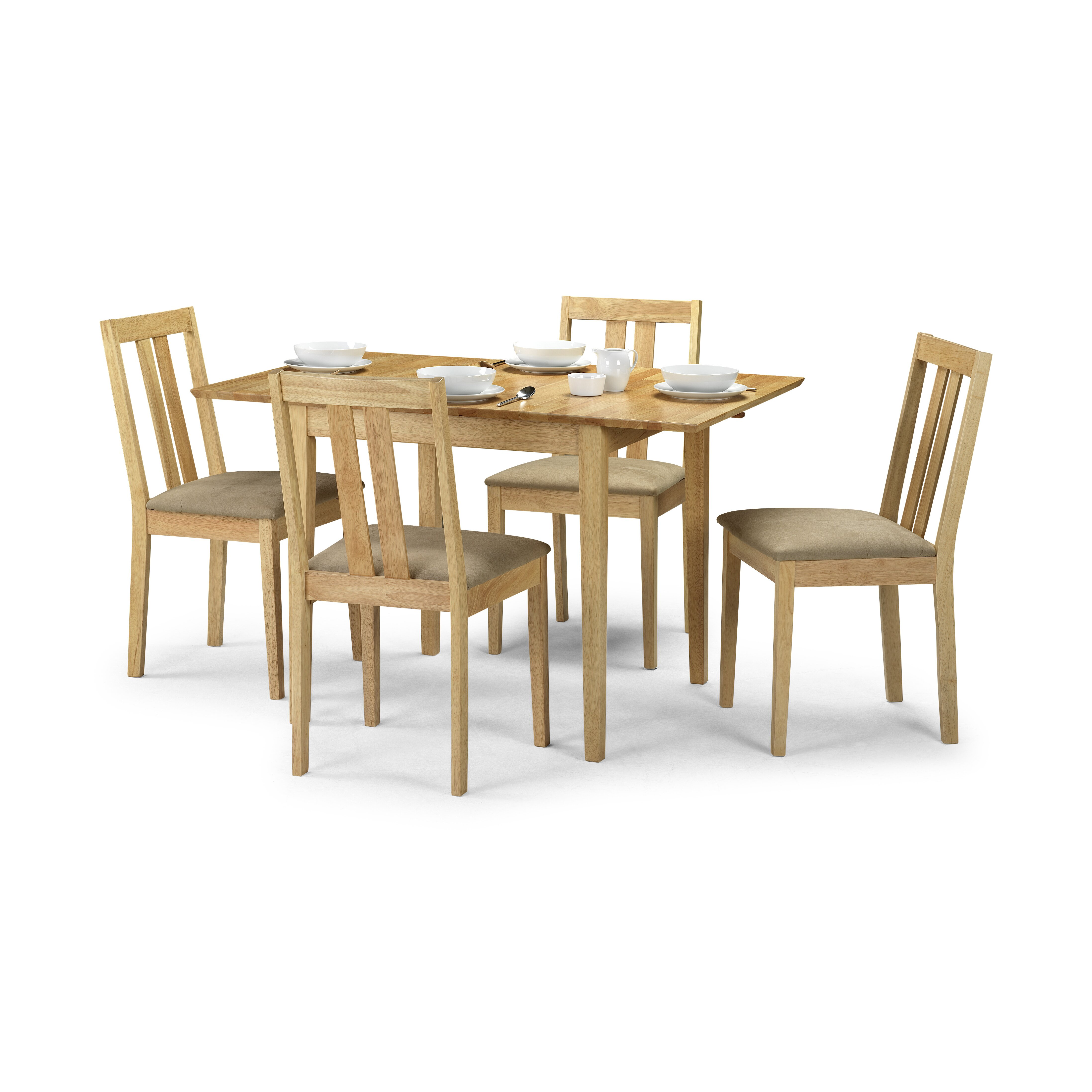 All Home Taberna Solid Oak Upholstered Dining Chair
