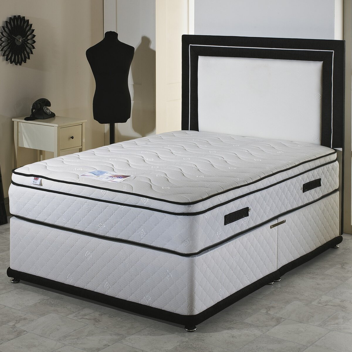 Home Haus Pocket Sprung 2000 Divan Bed