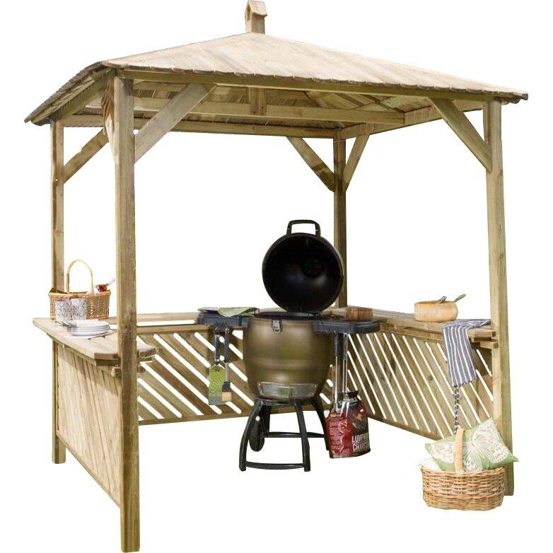 grill pavillon 2m