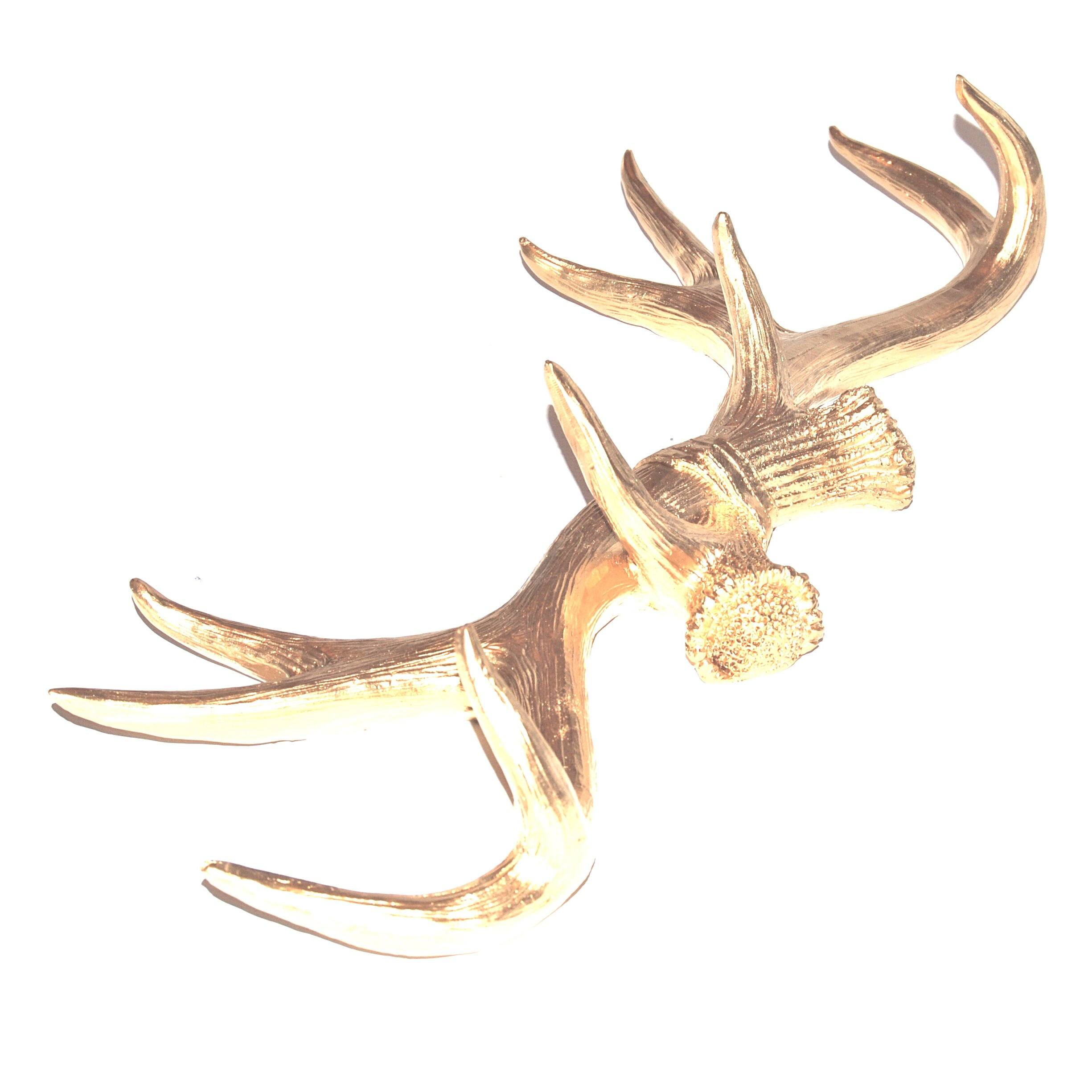 Near and Deer Near and Deer Faux Taxidermy Antler Wall Decor