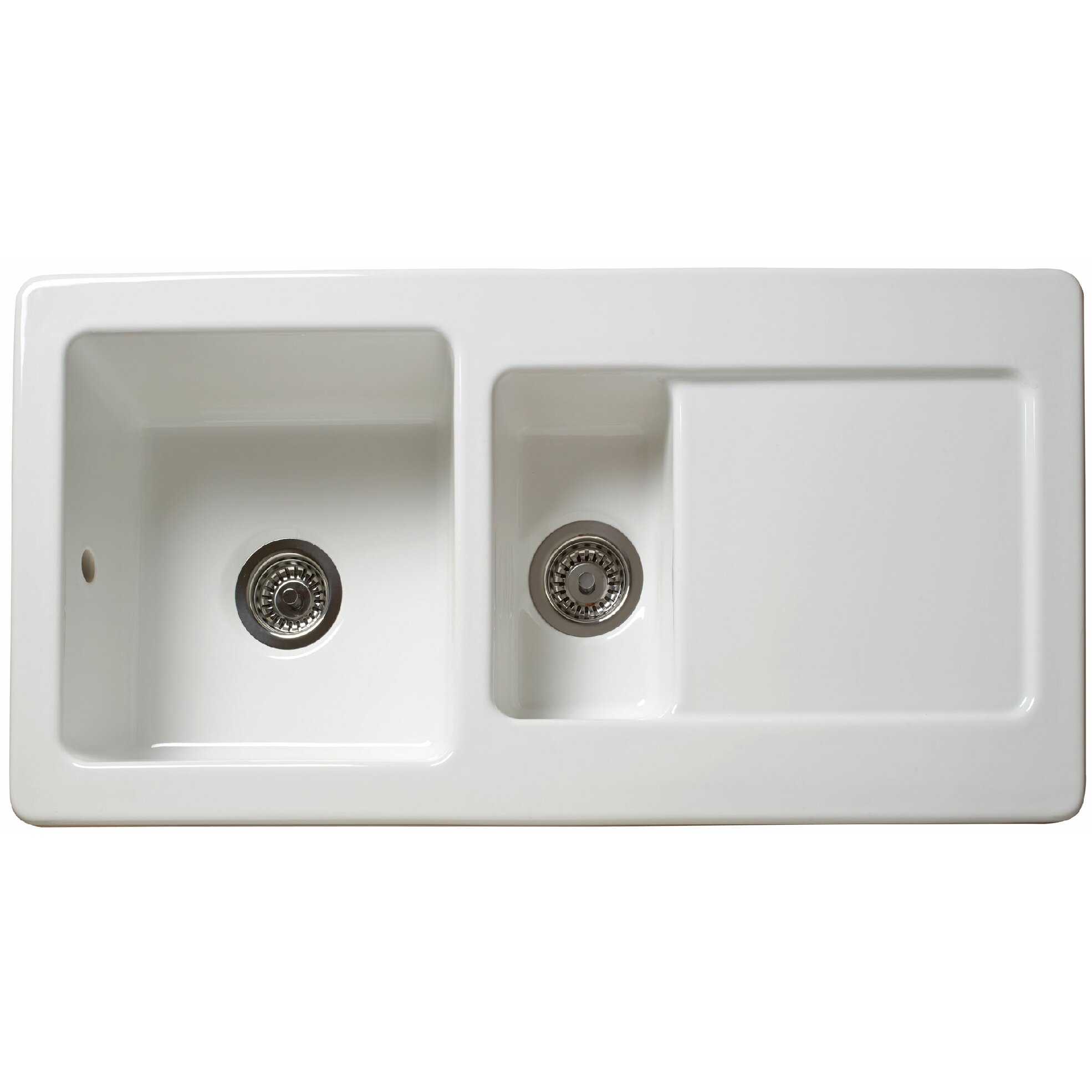 50cm inset kitchen sink with waste outlet reviews