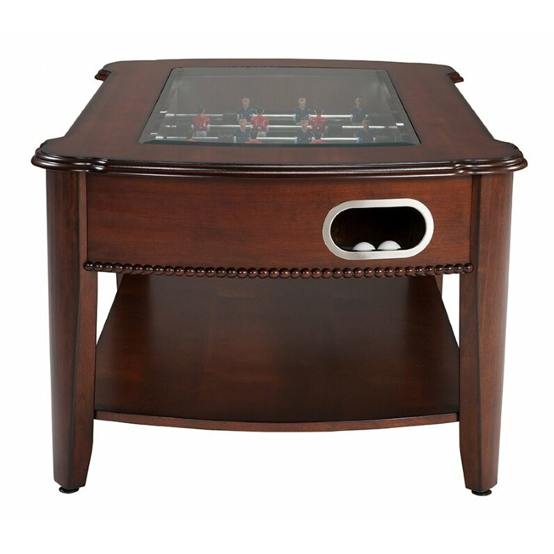 Berner Billiards 2 In 1 Foosball And Coffee Table Reviews Wayfair