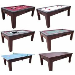 6 in 1 Multi Game Table by Berner Billiards