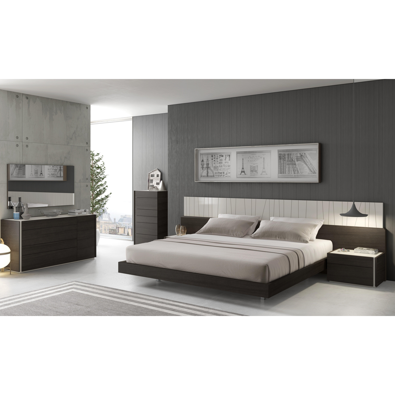 Porto Platform Customizable Bedroom Set