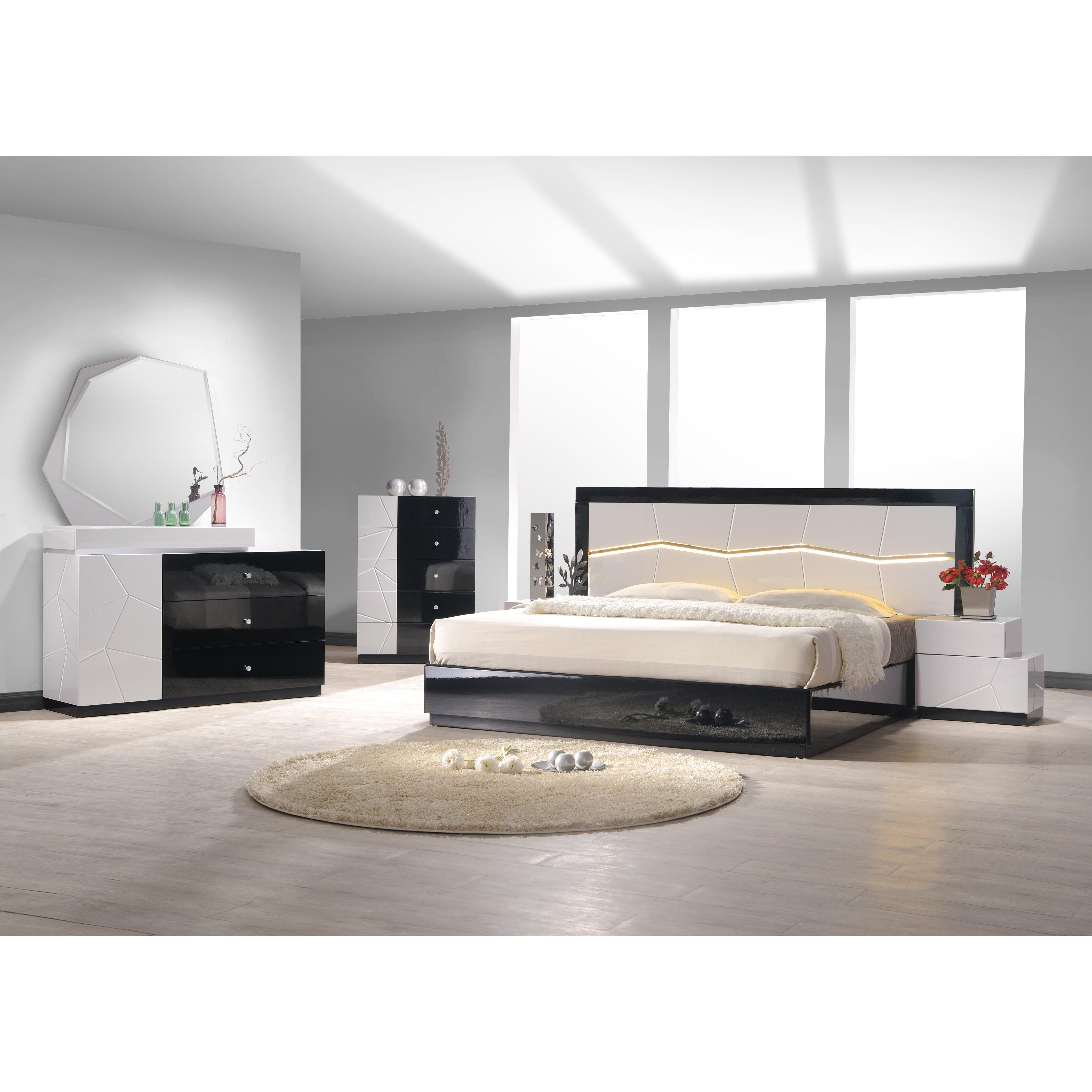 JandM Furniture Turin Platform Customizable