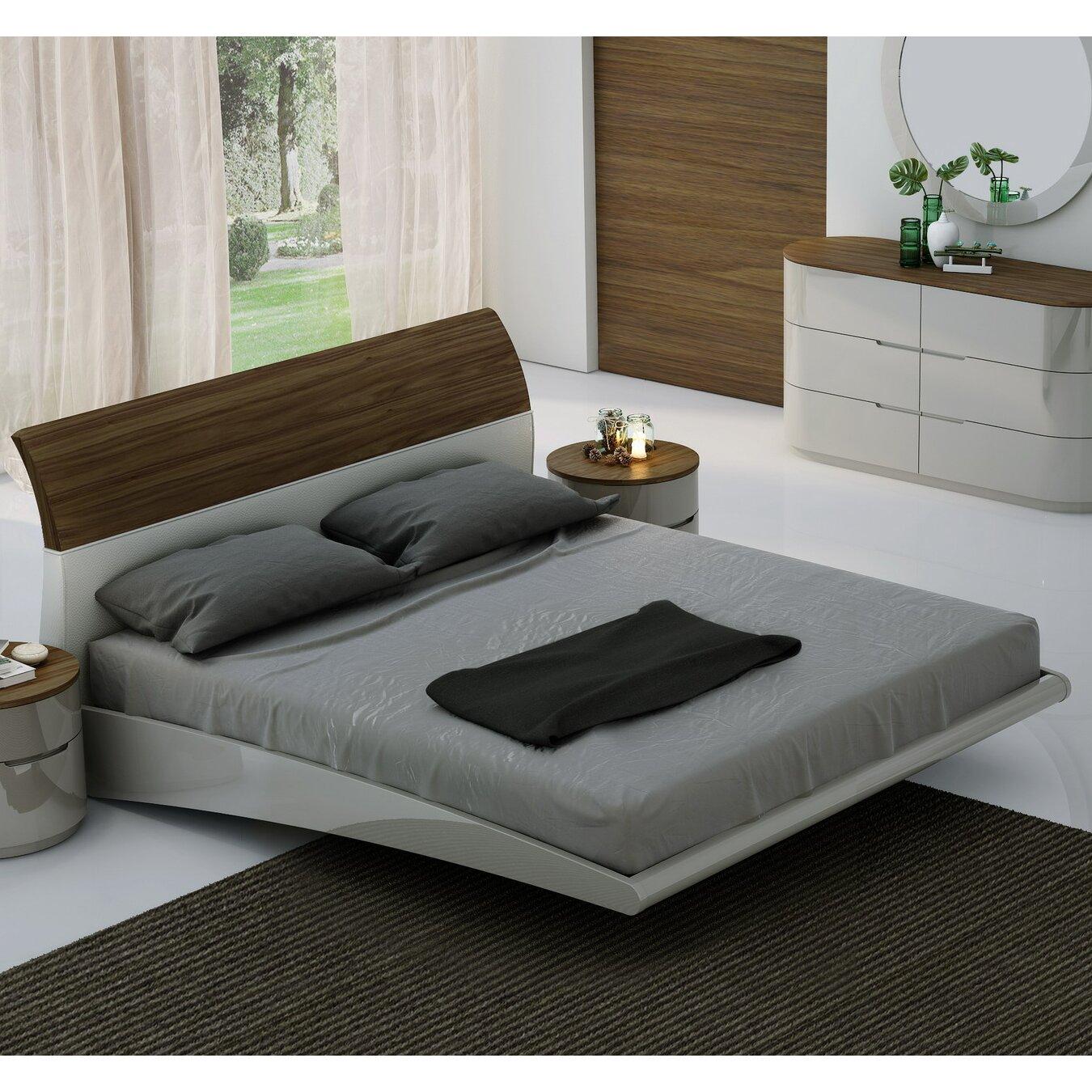 Platform Bedroom Furniture Platform Bed Reviews Allmodern