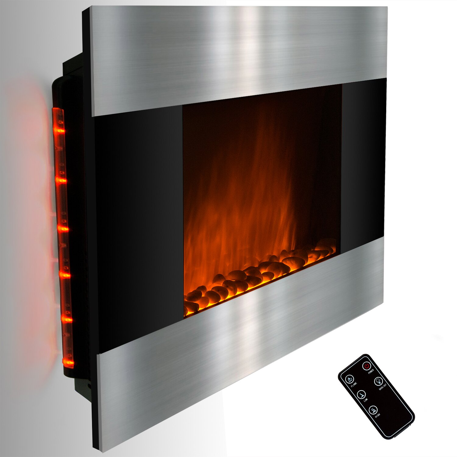 wall mount electric fireplace electric fireplace touchstone the