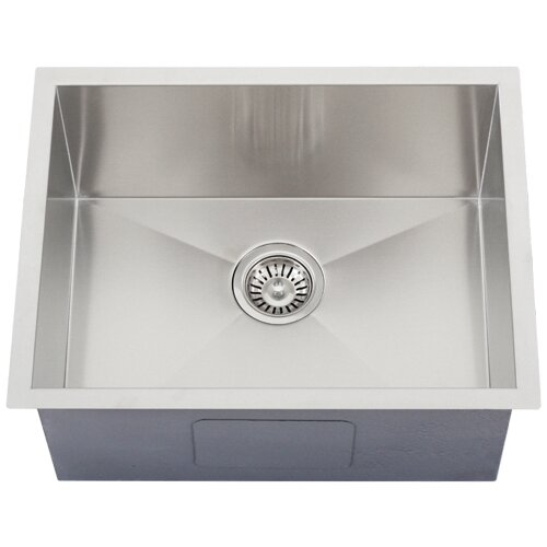 Ticor Sinks : ... Steel Single Bowl Square Undermount Kitchen Sink by Ticor Sinks
