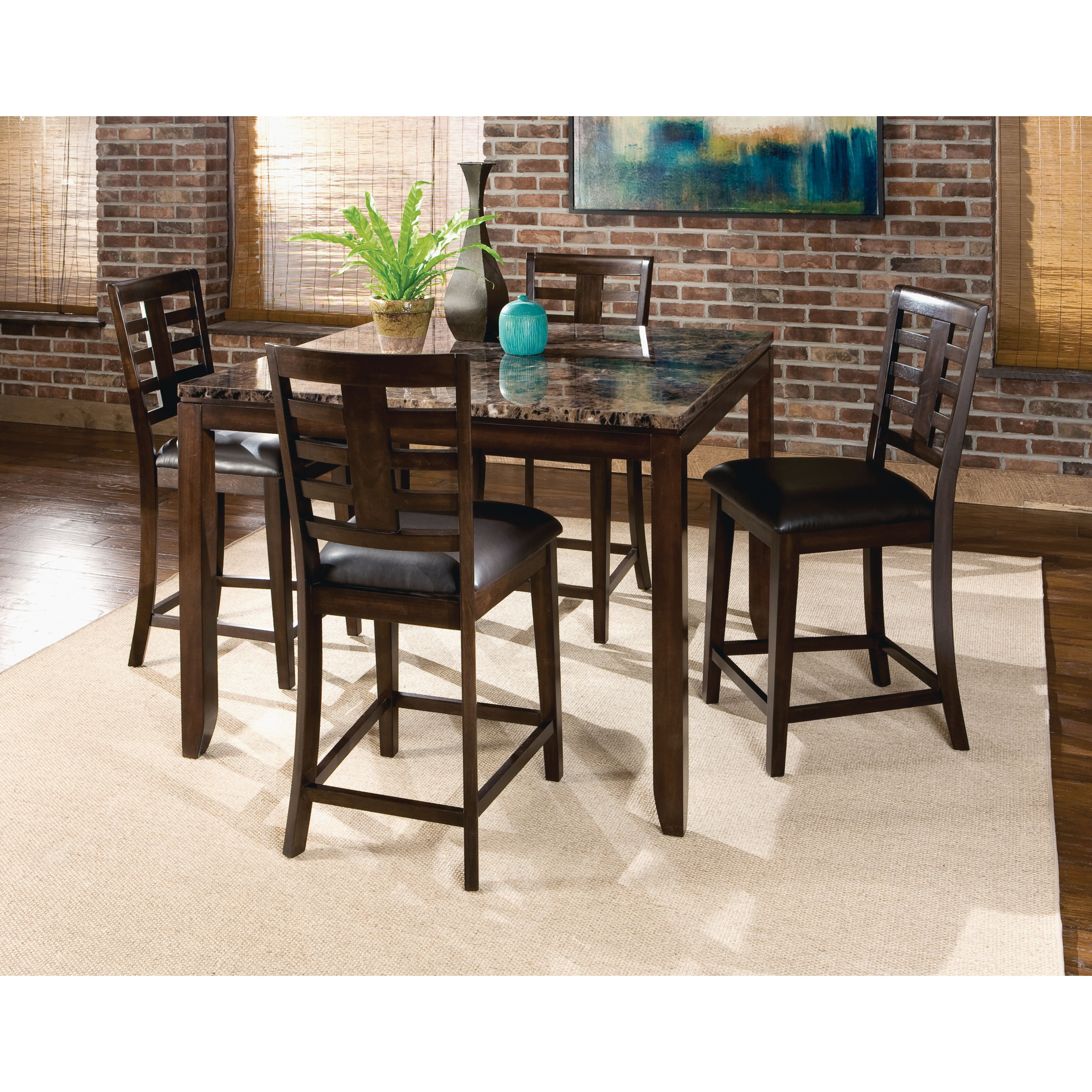 Kitchen Pub Table And Chairs Standard Furniture Bella Pub Table Set Reviews Wayfair