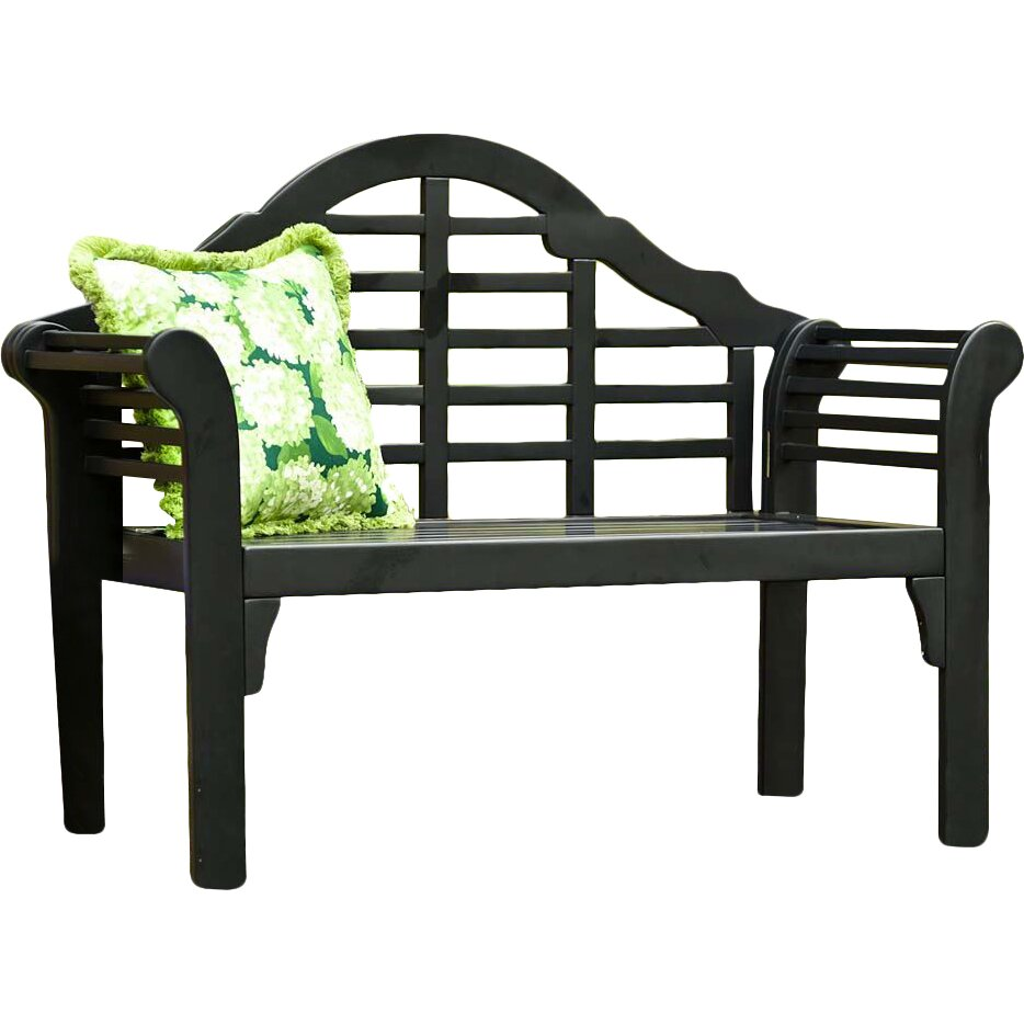 Plow Amp Hearth Lutyens Wood Garden Bench Amp Reviews Wayfair
