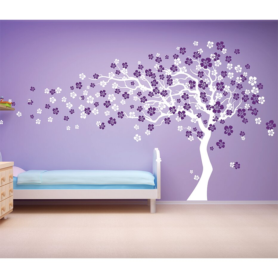 Cherry blossom tree wall decal roselawnlutheran pop decors cherry blossom tree wall decal amipublicfo Image collections