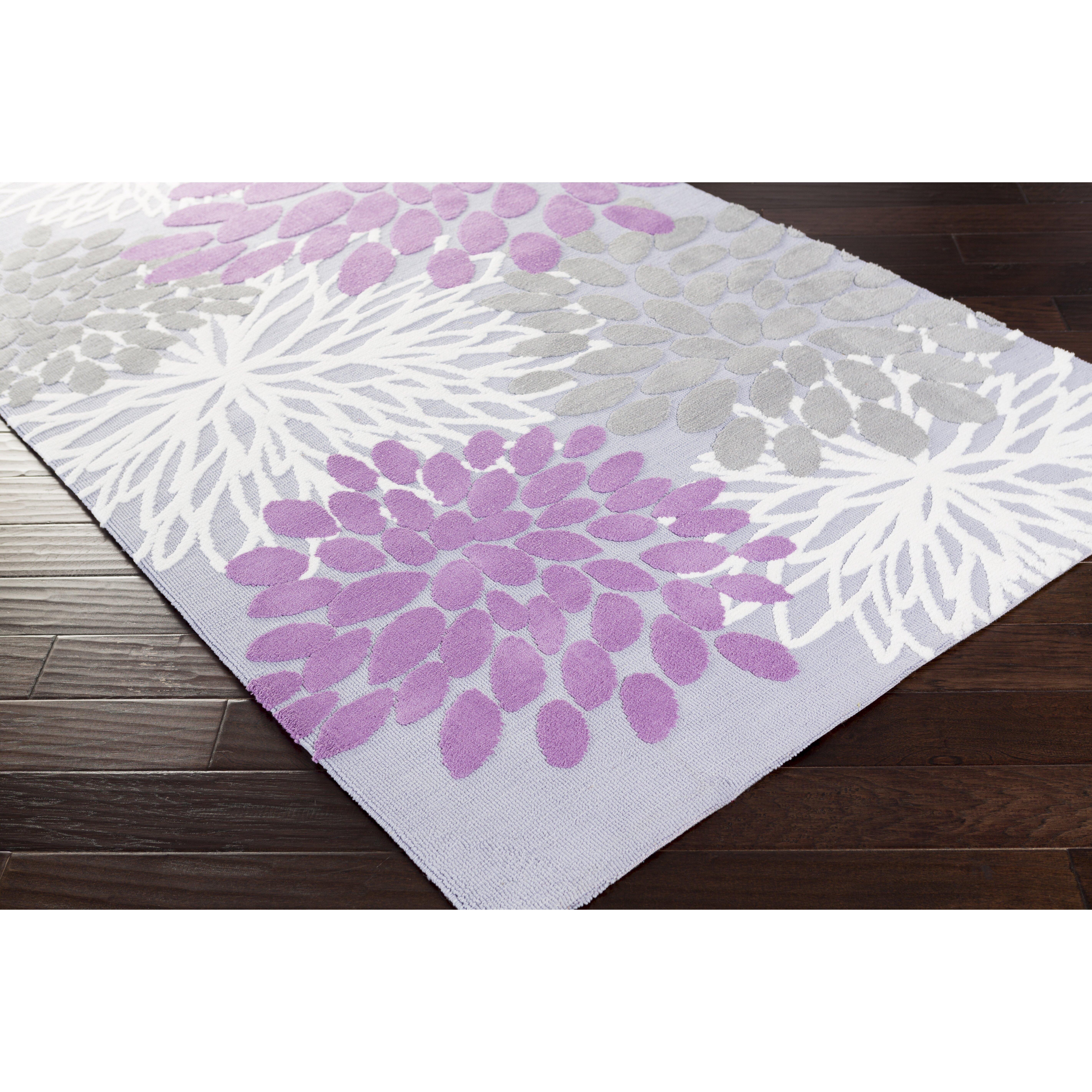 Surya Abigail Lavender/Gray Area Rug