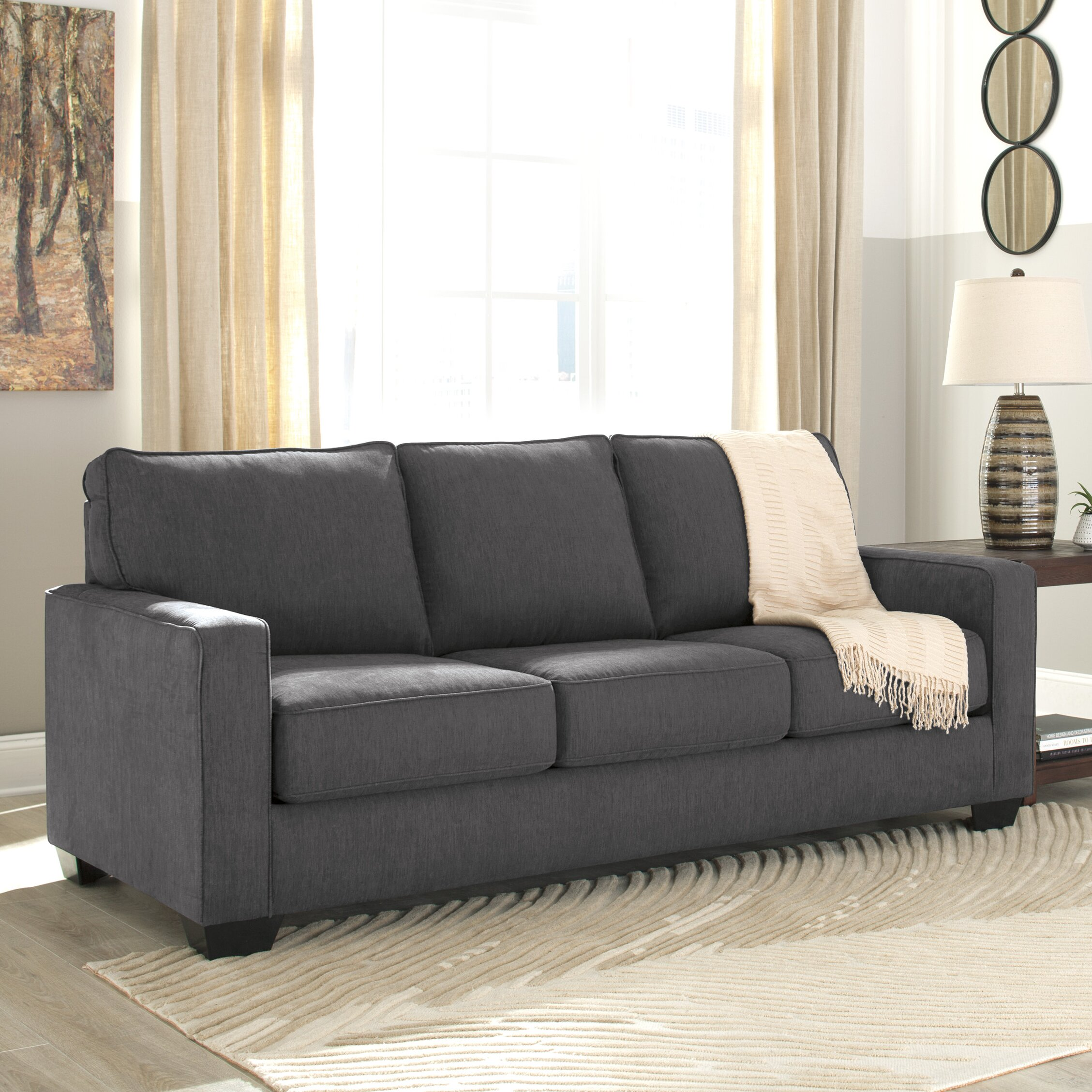 benchcraft zeb queen sleeper sofa reviews. Black Bedroom Furniture Sets. Home Design Ideas