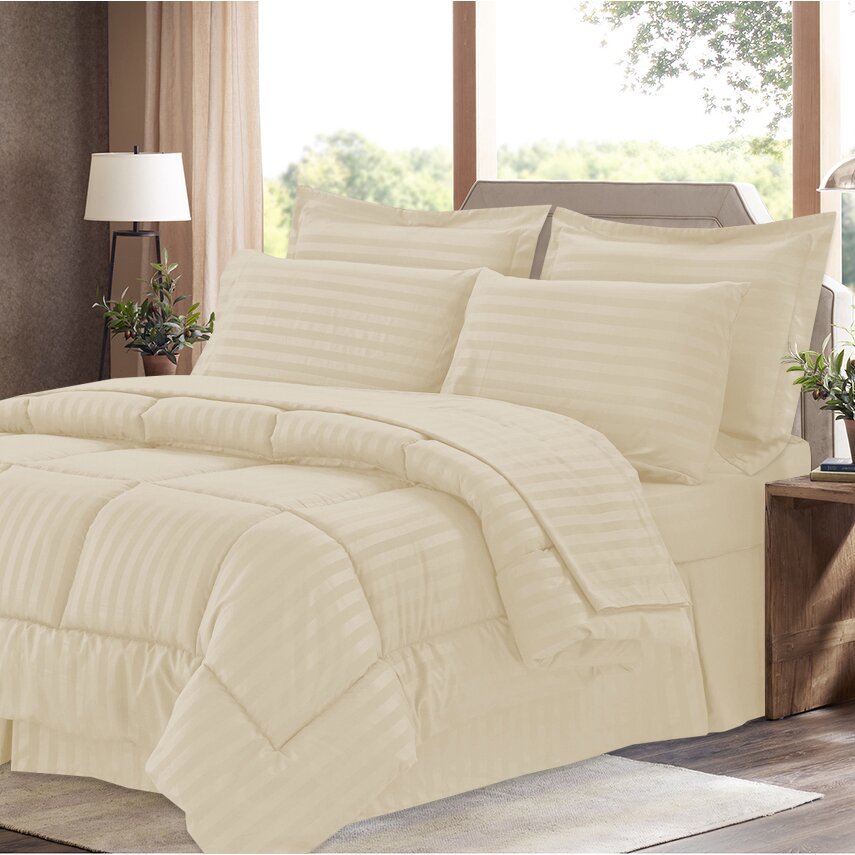 Sweet Home Collection 8 Piece Bed-In-A-Bag Set & Reviews ...