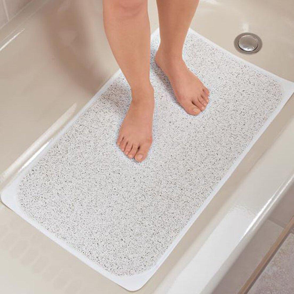 bathtub anti slip tubethevote sweet home collection loofah premium woven non slip bathtub shower