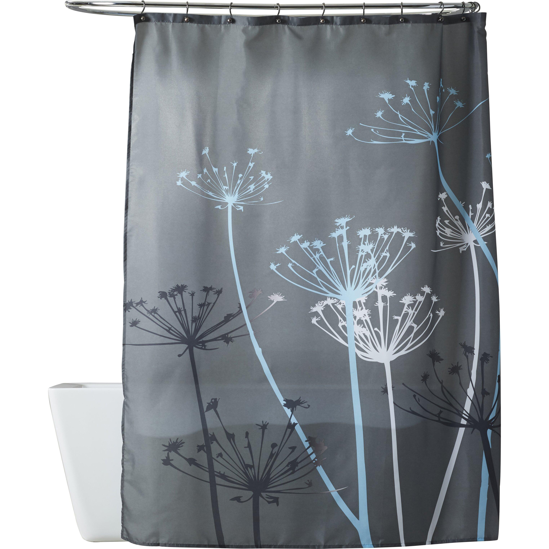 Curtain tie back hooks placement - Mercury Glass Shower Curtain Hooks Mercury Row Reg Vivian Thistle Shower Curtain