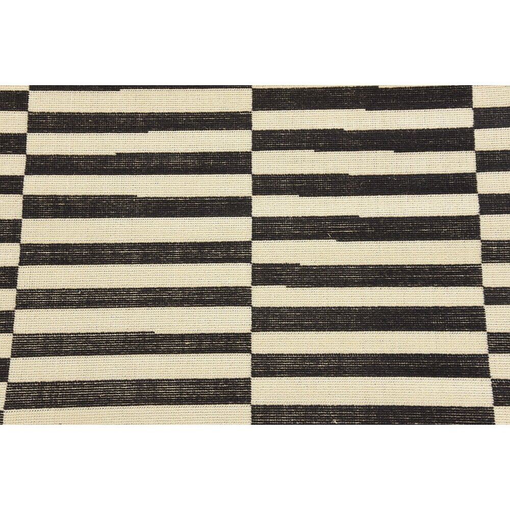 Mercury Row Braxton Black Area Rug Reviews Wayfair
