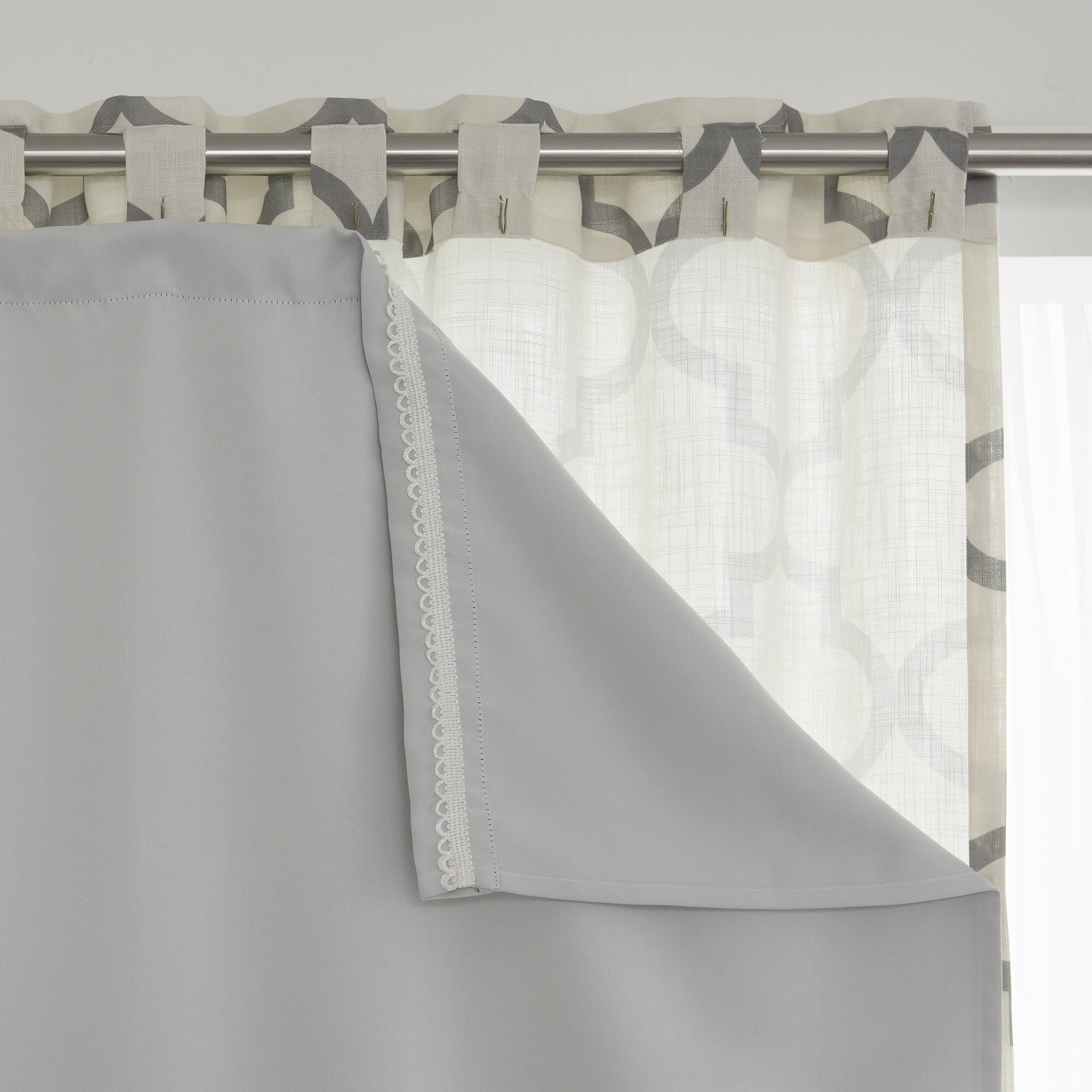Thermal curtains grey - Best Home Fashion Inc Blackout Thermal Curtain Panel Liner