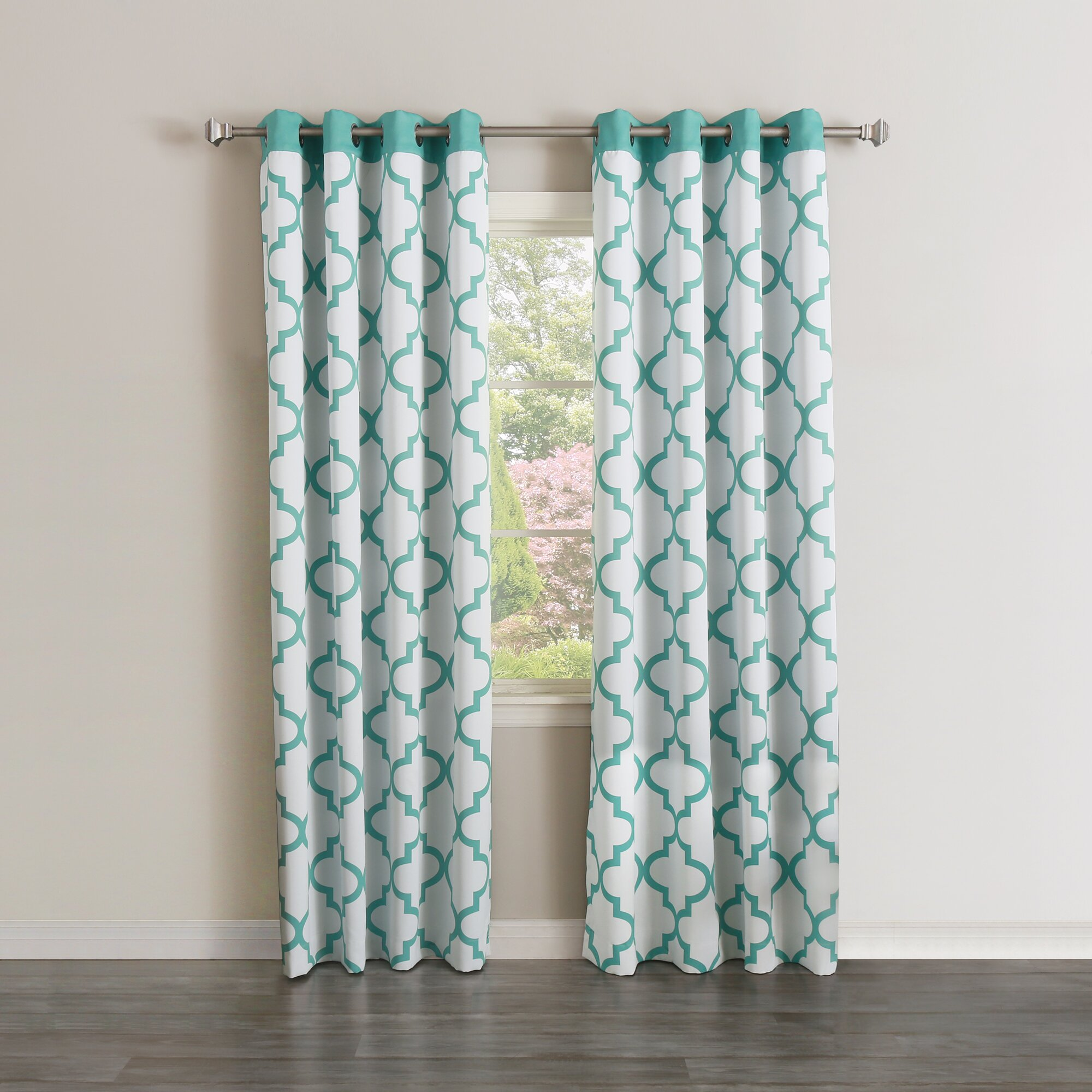 best home fashion inc moroccan curtain panels reviews. Black Bedroom Furniture Sets. Home Design Ideas