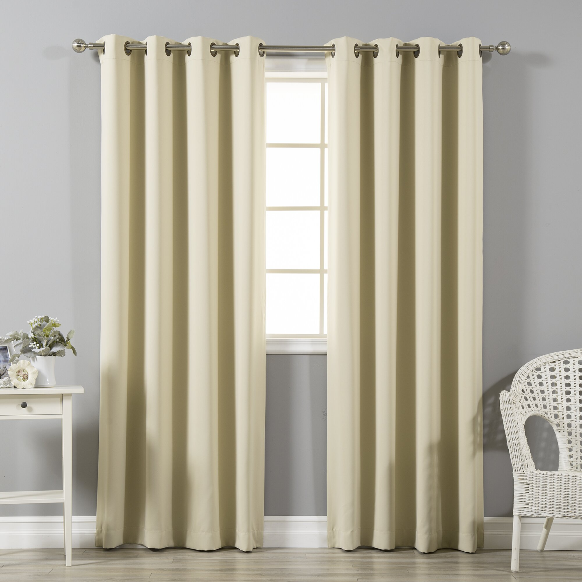 best home fashion inc grommet top insulated blackout thermal curtain