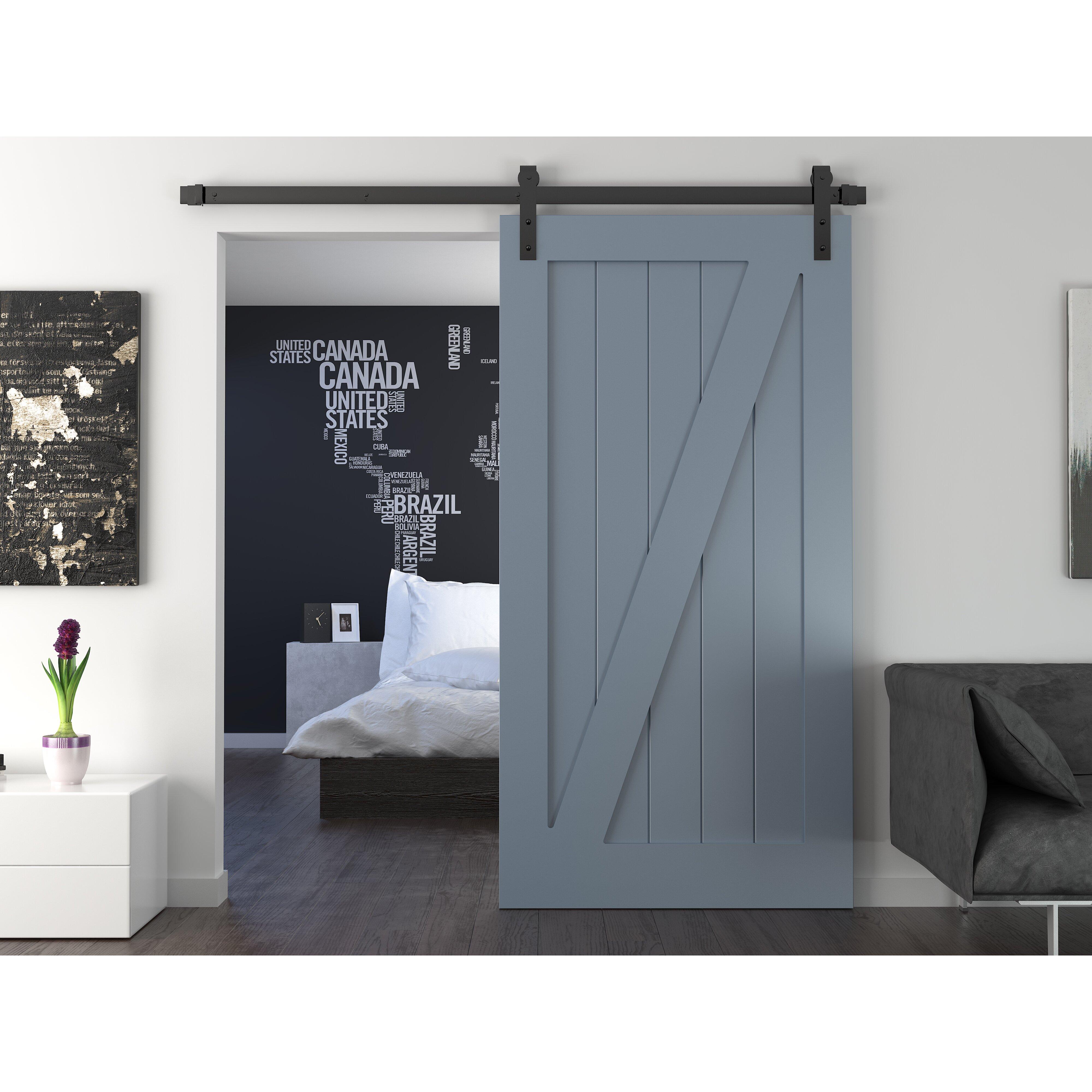 QUICK VIEW  Interior Barn Door. Sliding Barn Door Cabinet   Wayfair
