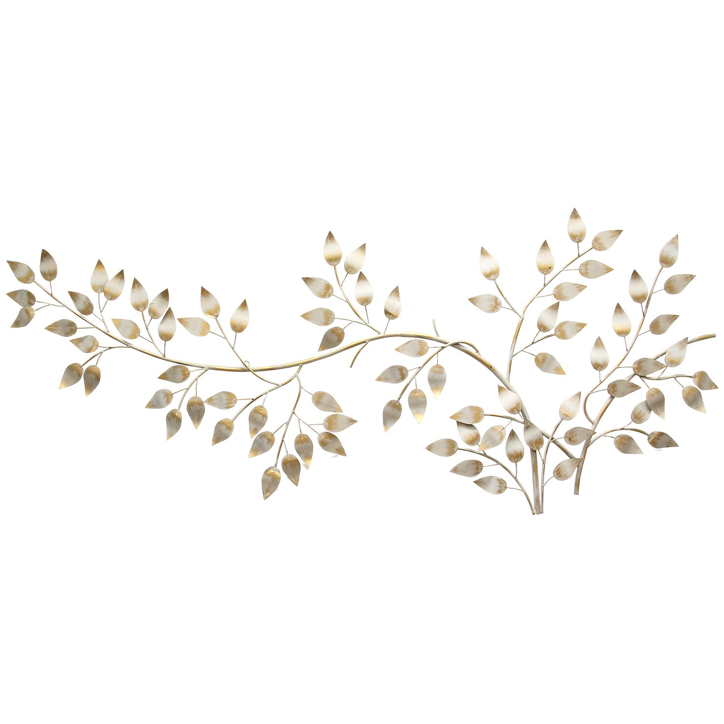 Stratton Home Decor Flowing Leaves Wall Du0026eacute;cor