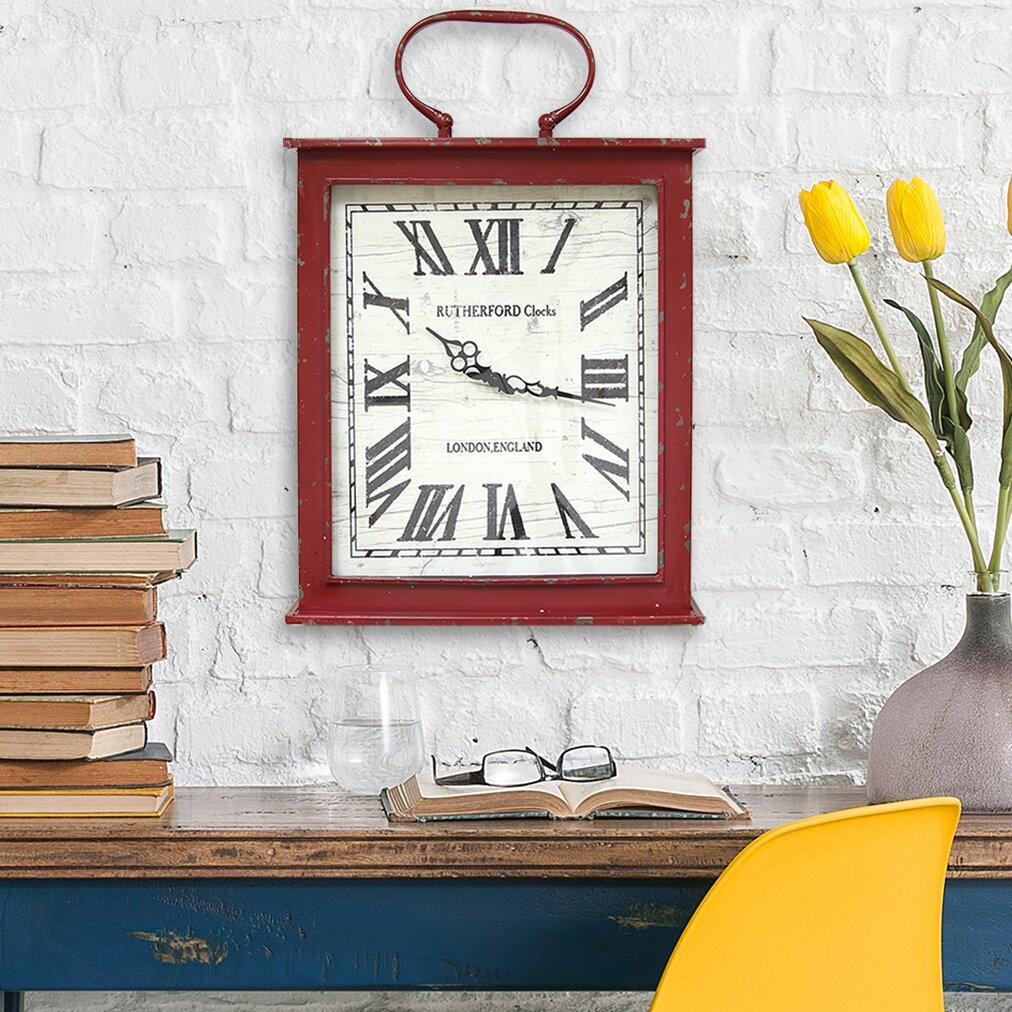 Stratton Home Decor Vintage Wall Clock & Reviews | Wayfair.ca