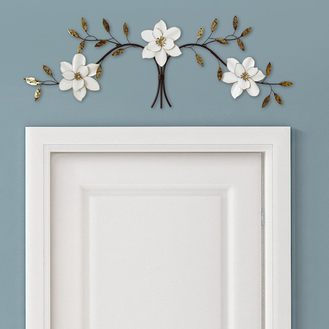 Albertina Over The Door White Blooms Wall Decor Amp Reviews