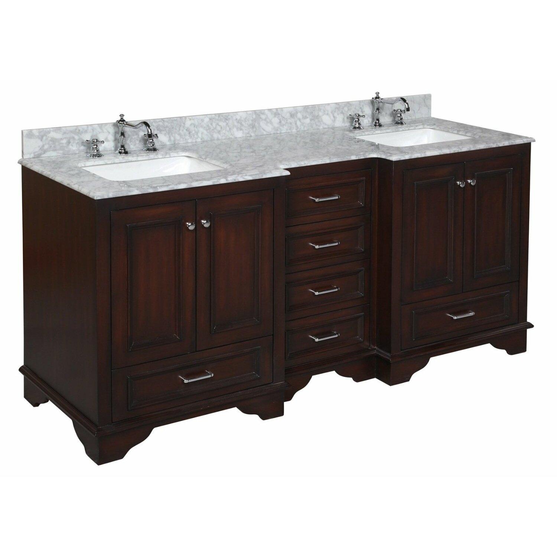 "kbc nantucket "" double bathroom vanity set  reviews  wayfair, Bathroom decor"