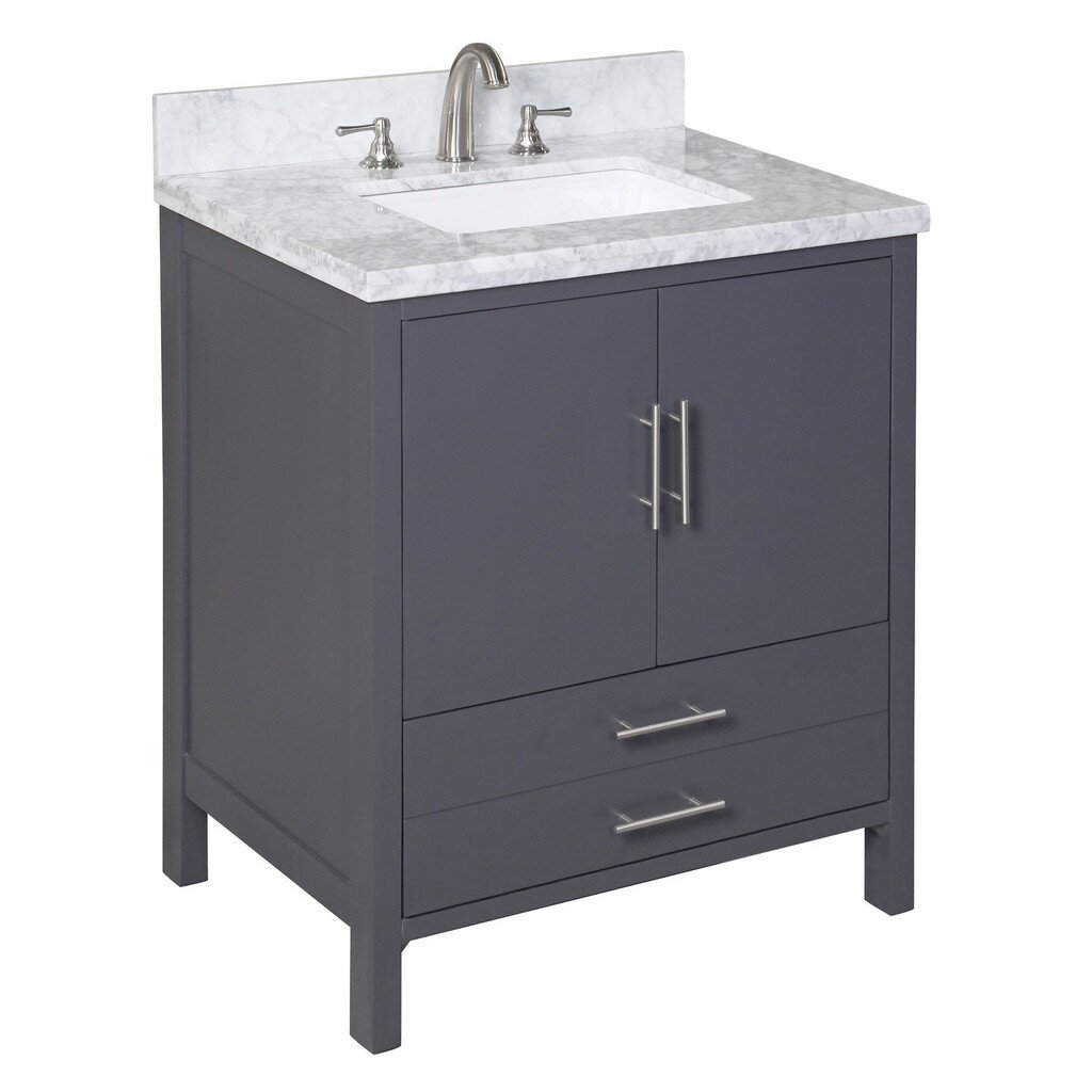 Bathroom Vanity Black 30 Inch Bathroom Vanities Youll Love Wayfair