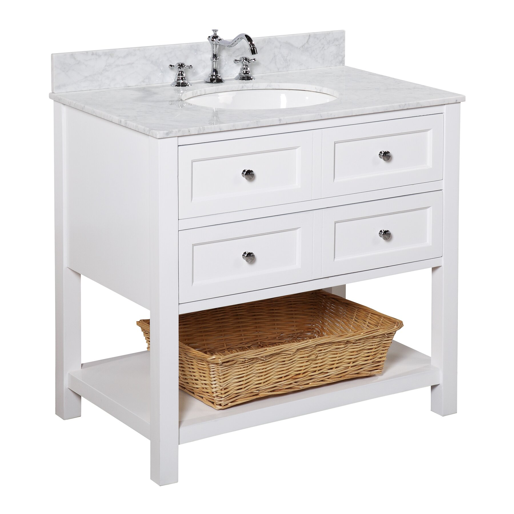 Bathroom Single Vanity Kbc New Yorker 36 Single Bathroom Vanity Set Reviews Wayfair