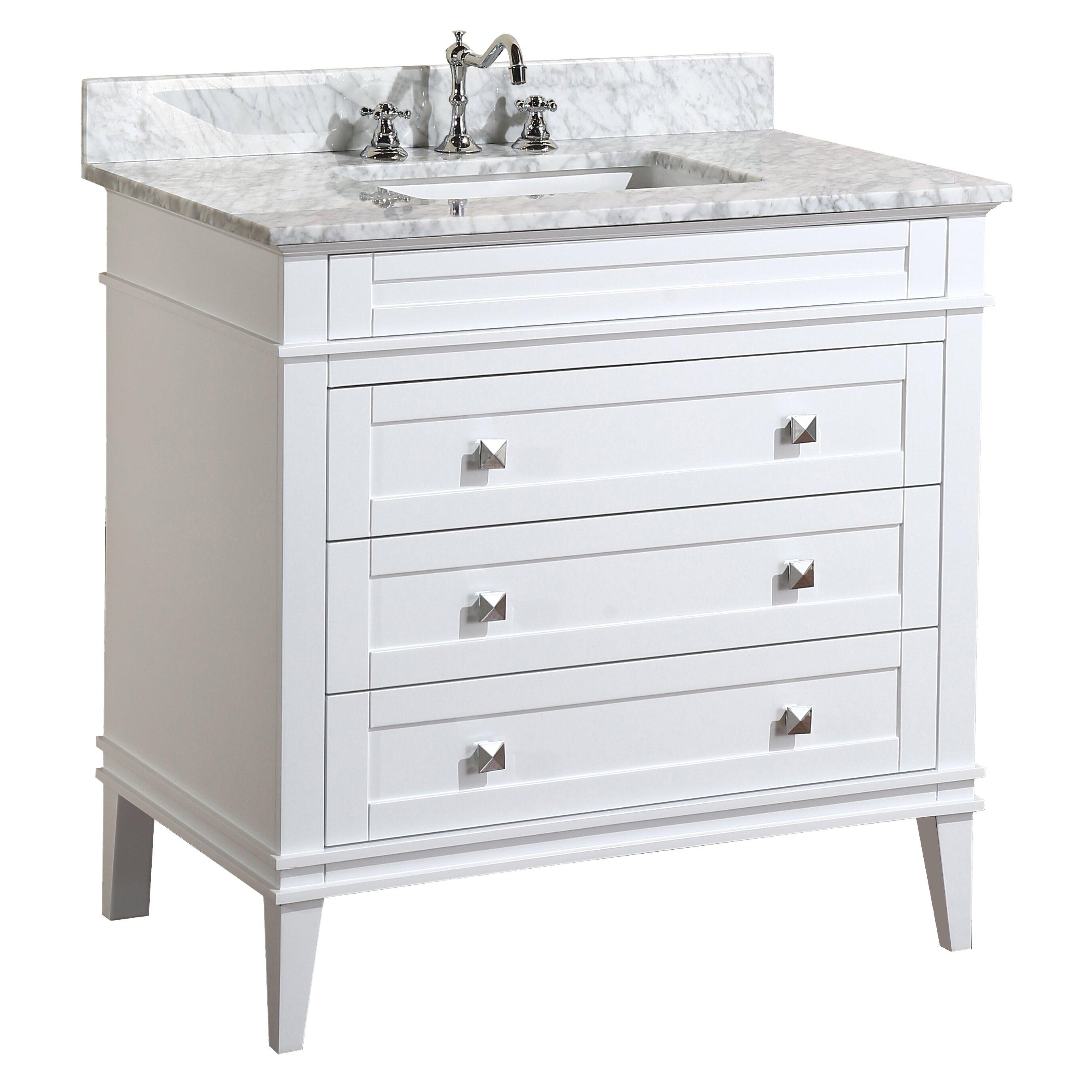 Kbc Eleanor 36 Single Bathroom Vanity Set Reviews