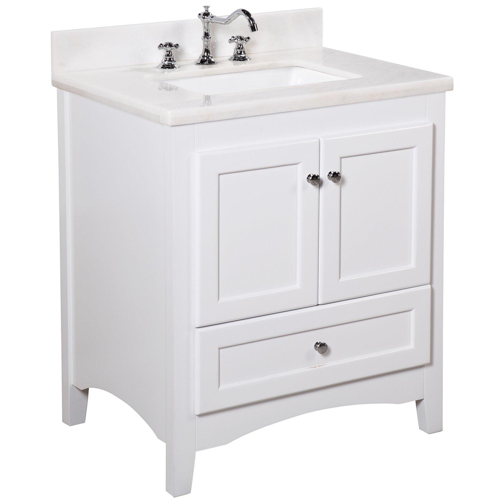 30 Bathroom Cabinet Kbc Abbey 30 Single Bathroom Vanity Set Reviews Wayfair