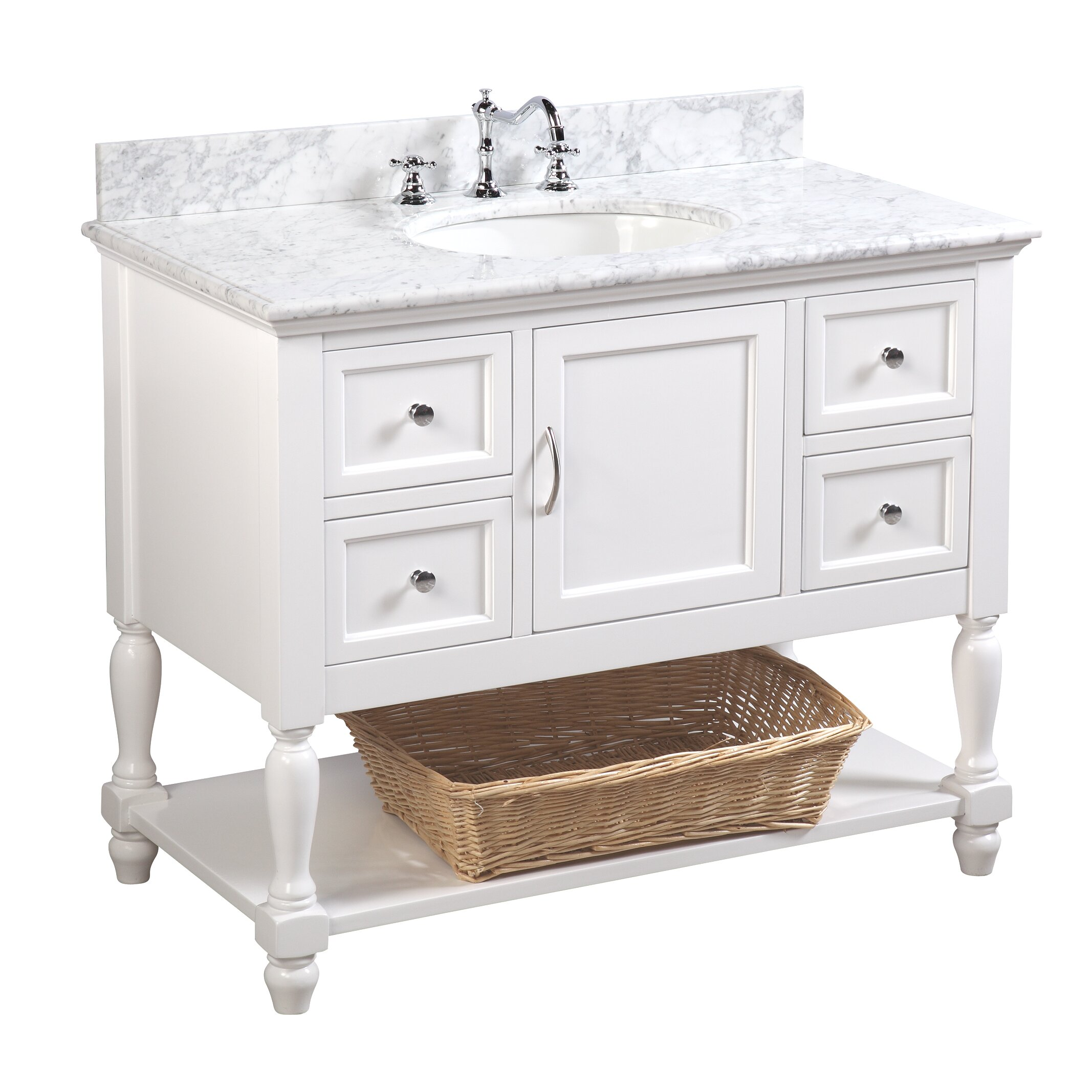 42 Bathroom Vanity Kbc Beverly 42 Single Bathroom Vanity Set Reviews Wayfair