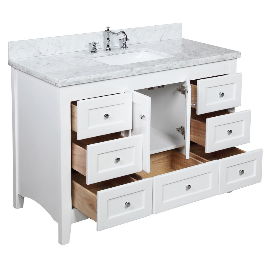 Kbc Abbey 48 Single Bathroom Vanity Set Reviews