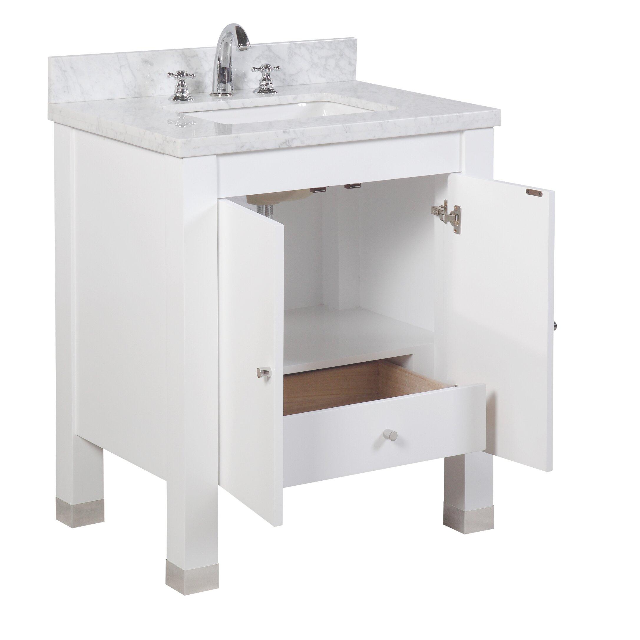 Bathroom Vanity Set Kbc Riley 30 Single Bathroom Vanity Set Reviews Wayfair