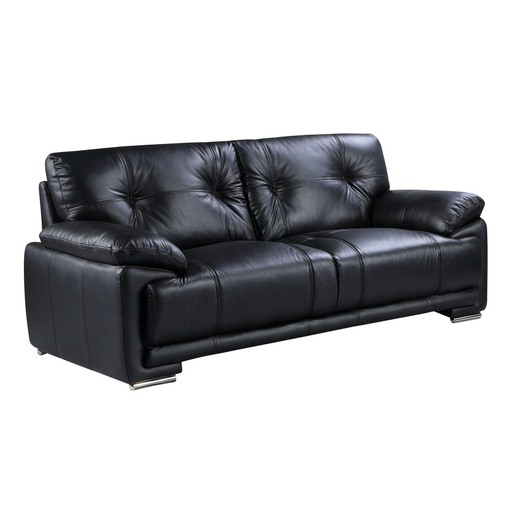 Rose Bay Furniture Lucy Genuine Leather 3 Seater Sofa