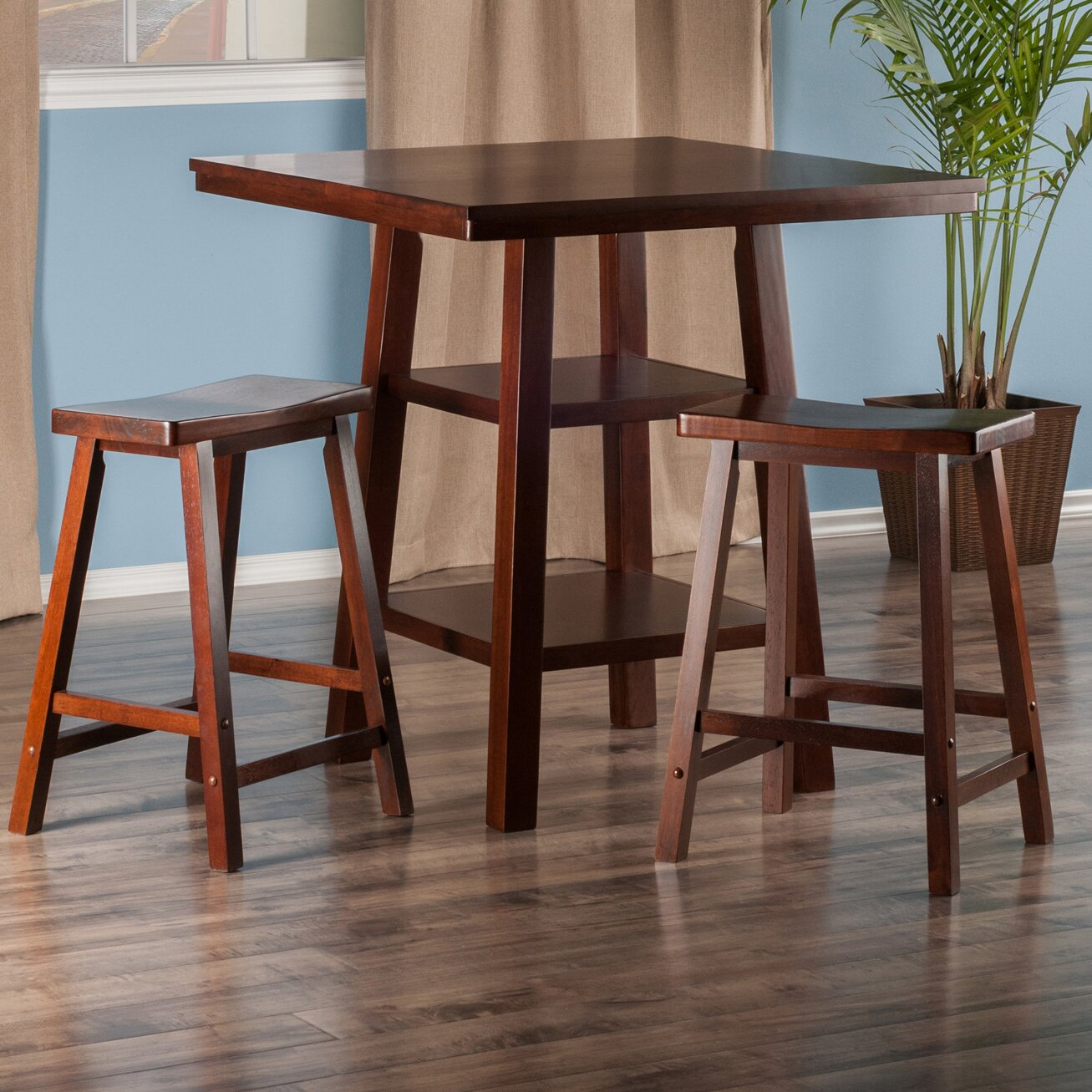 red barrel studio pratt street 3 piece dining set reviews wa