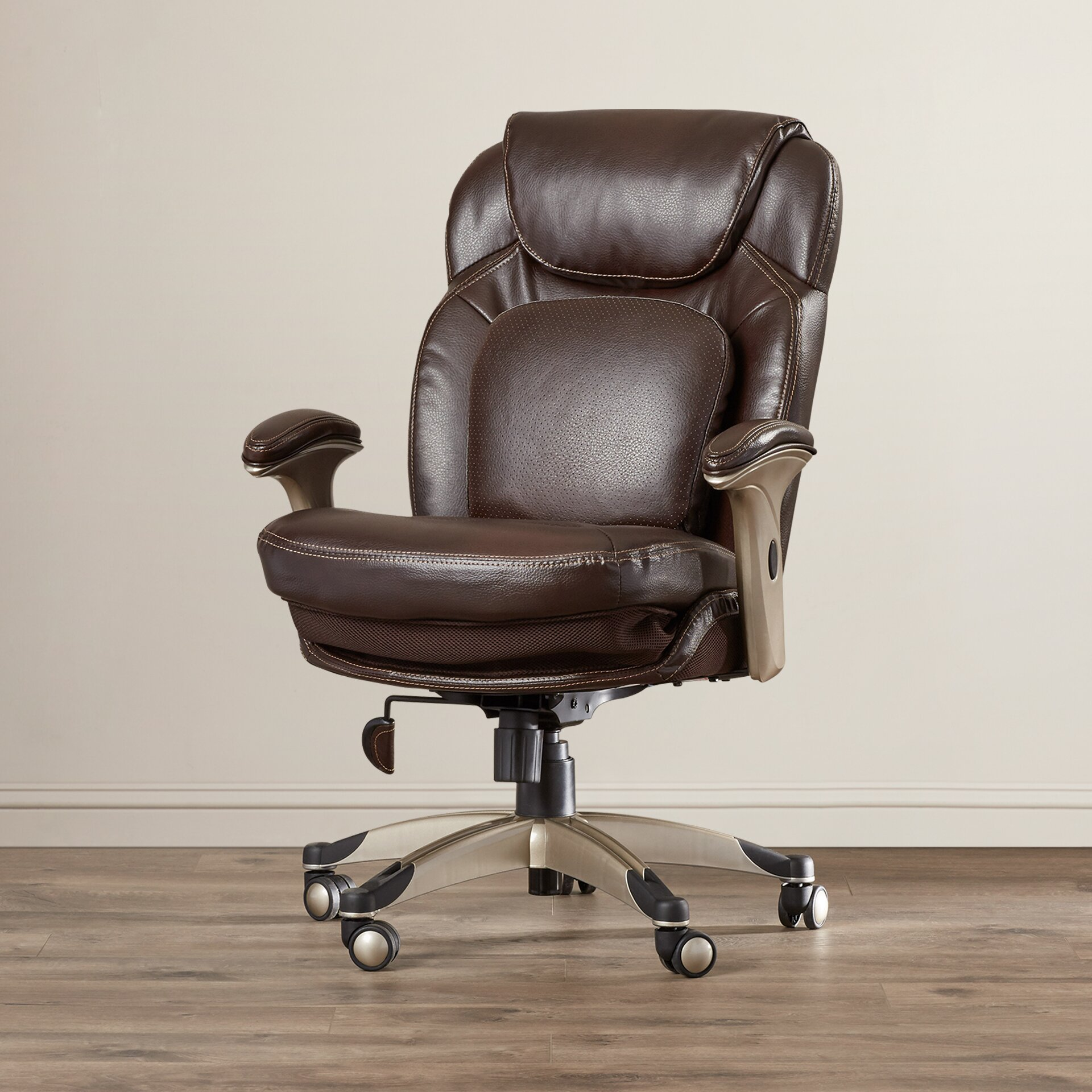 serta at home back in health and wellness midback desk chair - Serta Executive Office Chair
