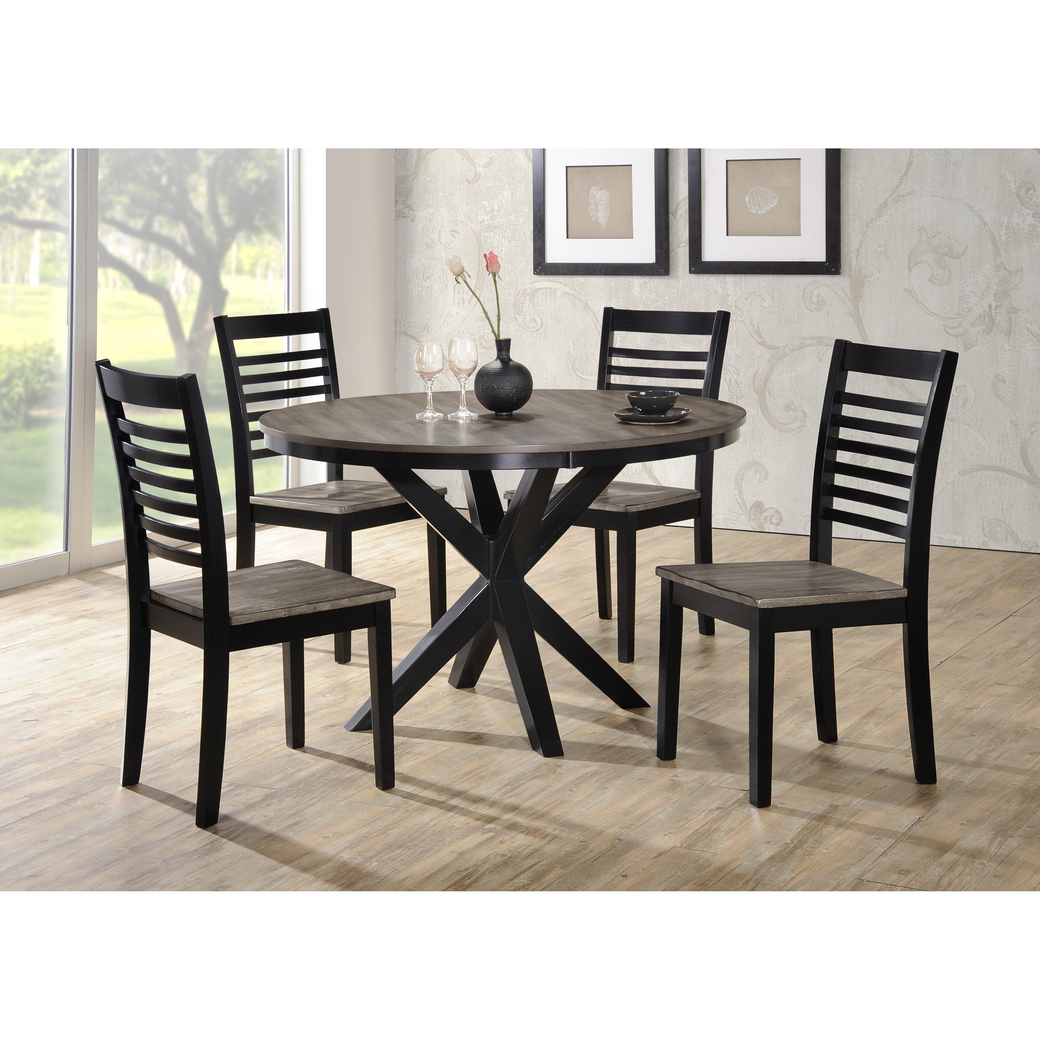 Charming ... Chair · Red Barrel Studio Reg Clipper City 5 Piece Dining Set ...