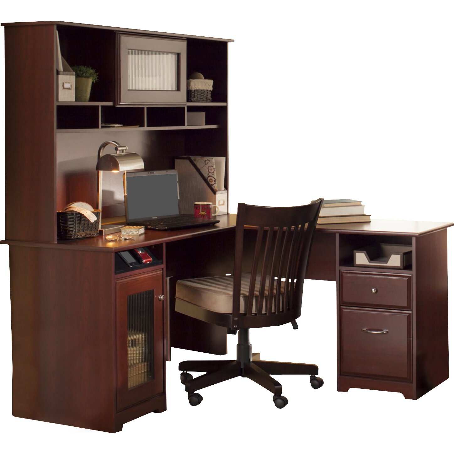 Red Barrel Studio Hillsdale L Shaped Executive Desk With