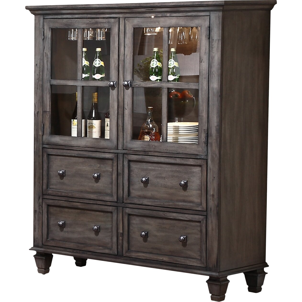 Chippendale China Cabinet Red Barrel Studio Middlebury China Cabinet Reviews Wayfair