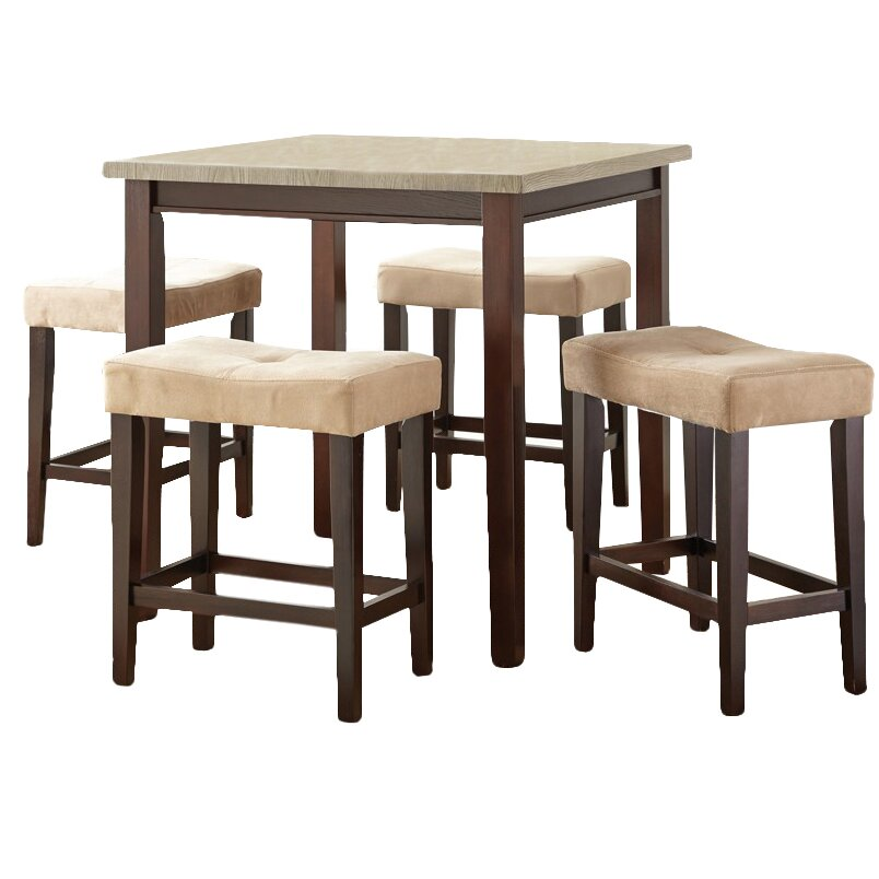 covedale 5 piece counter height dining set reviews