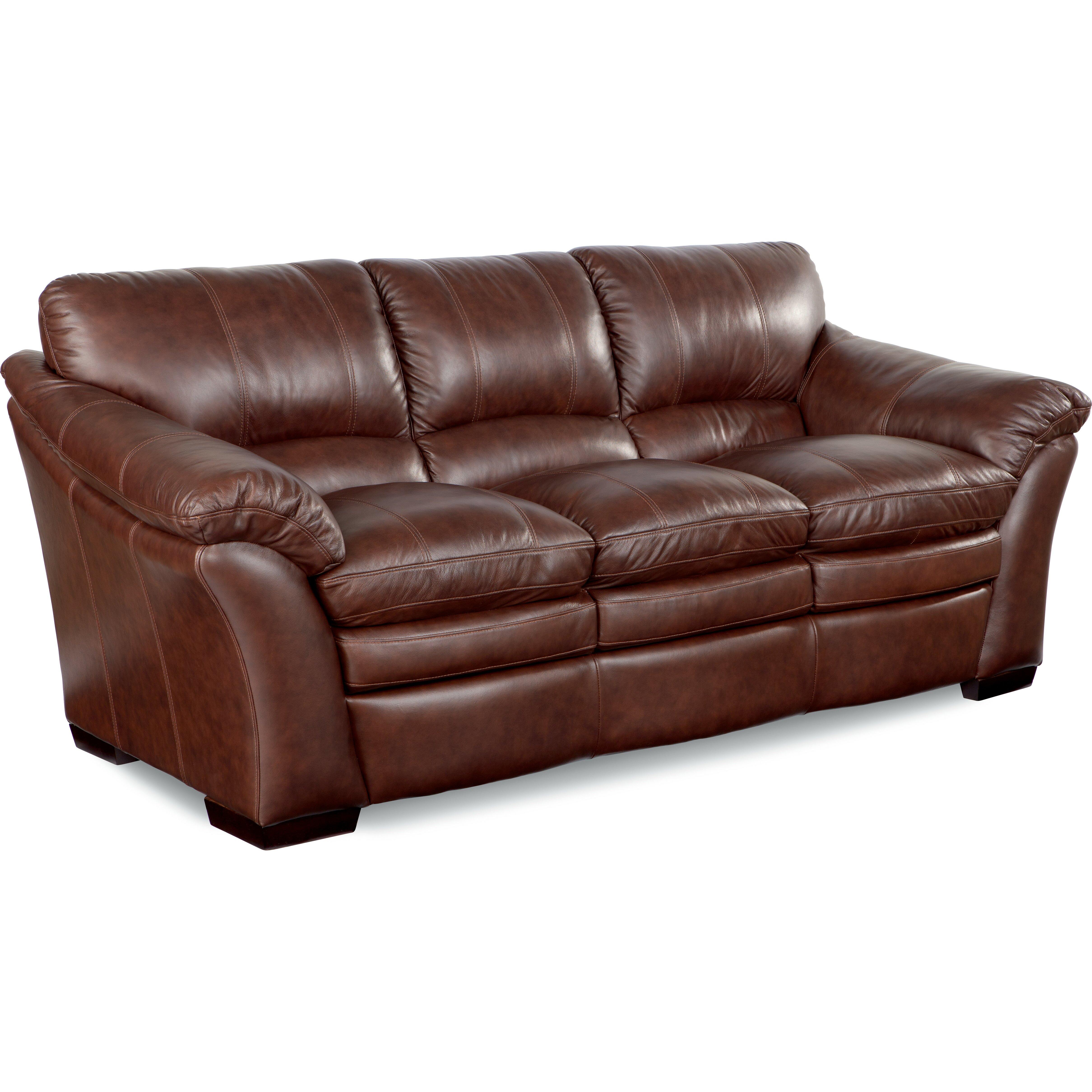 burton leather sofa
