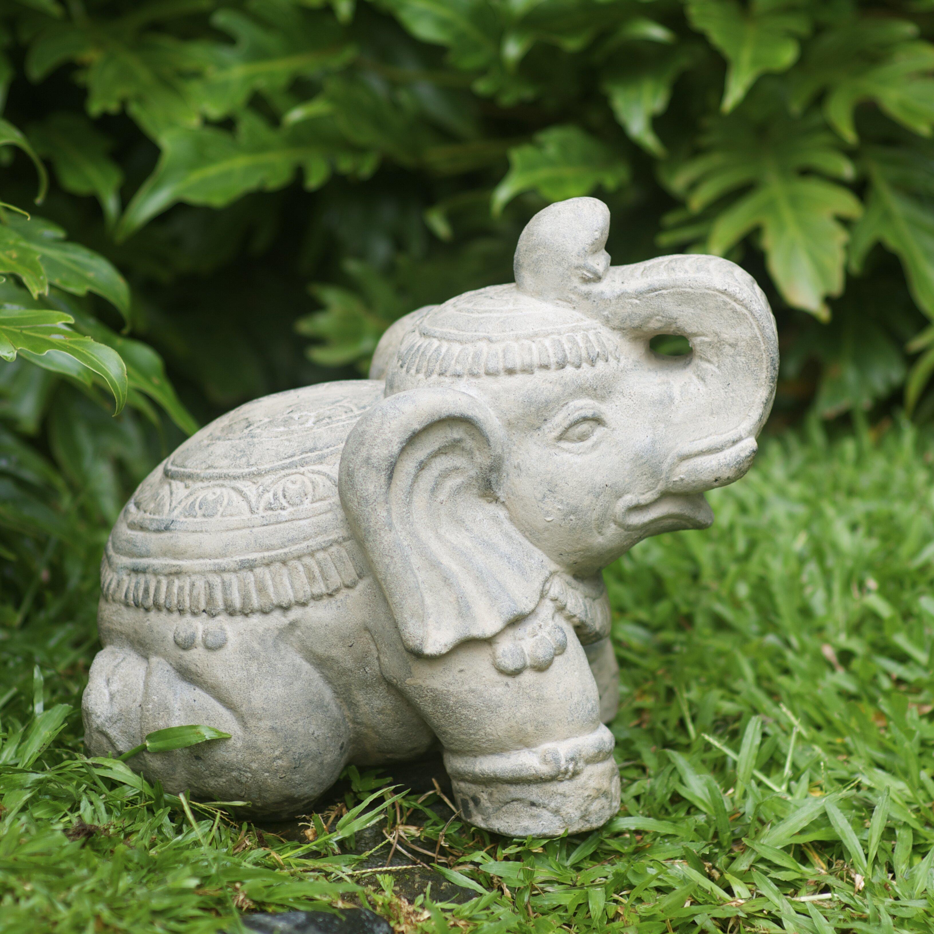 My Spirit Garden Volcanic Ash Royal Elephant Statue Reviews