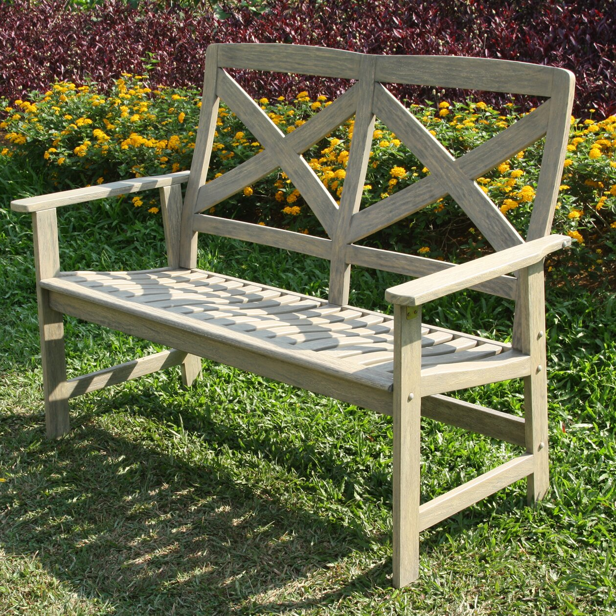 Cambridge Casual Porto Wood Garden Bench Reviews
